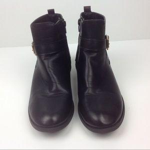 Steve Madden Black Tauruss Ankle Boots